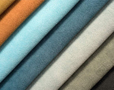 What are the flame retardant properties of polyester interwoven fabrics