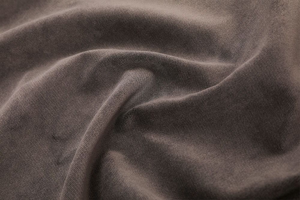 Inherently flame retardant cut pile velvet fabric for stage curtain