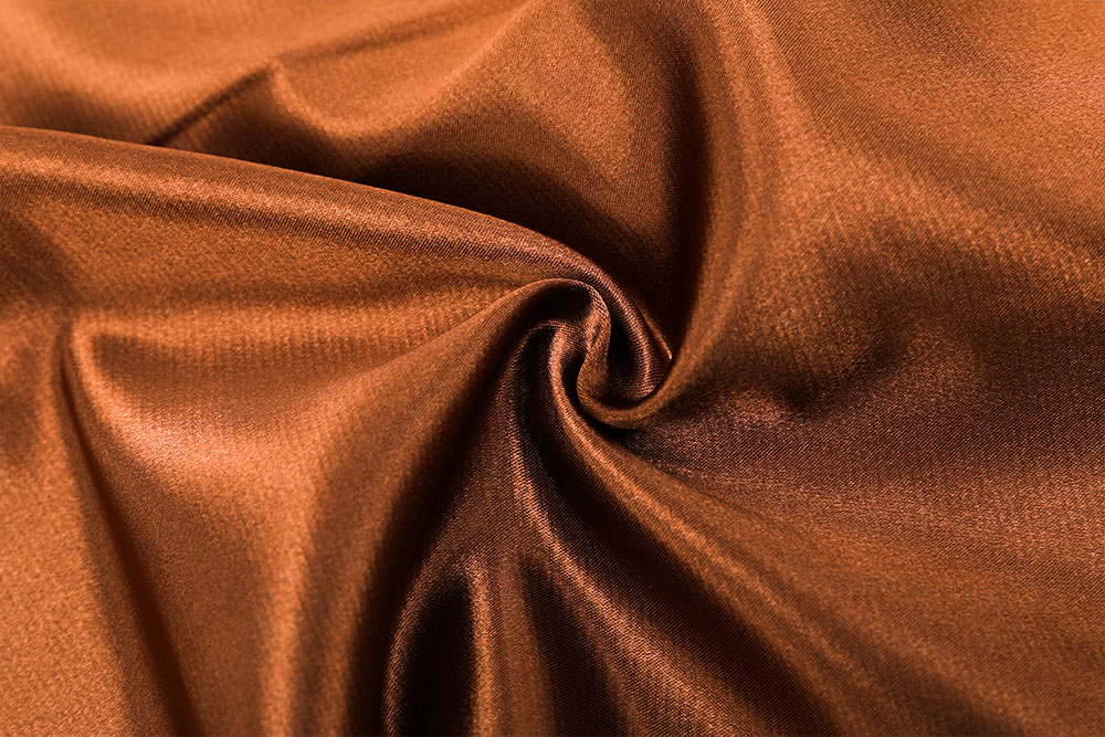 Permanently flame retardant curtain fabric