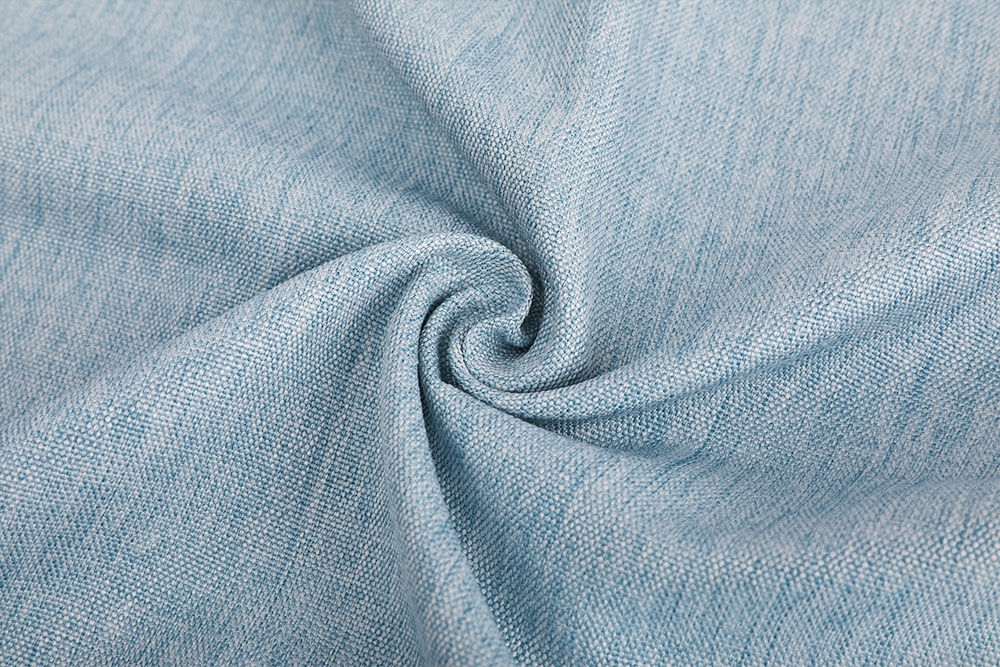 IFR linen-like curtain fabric