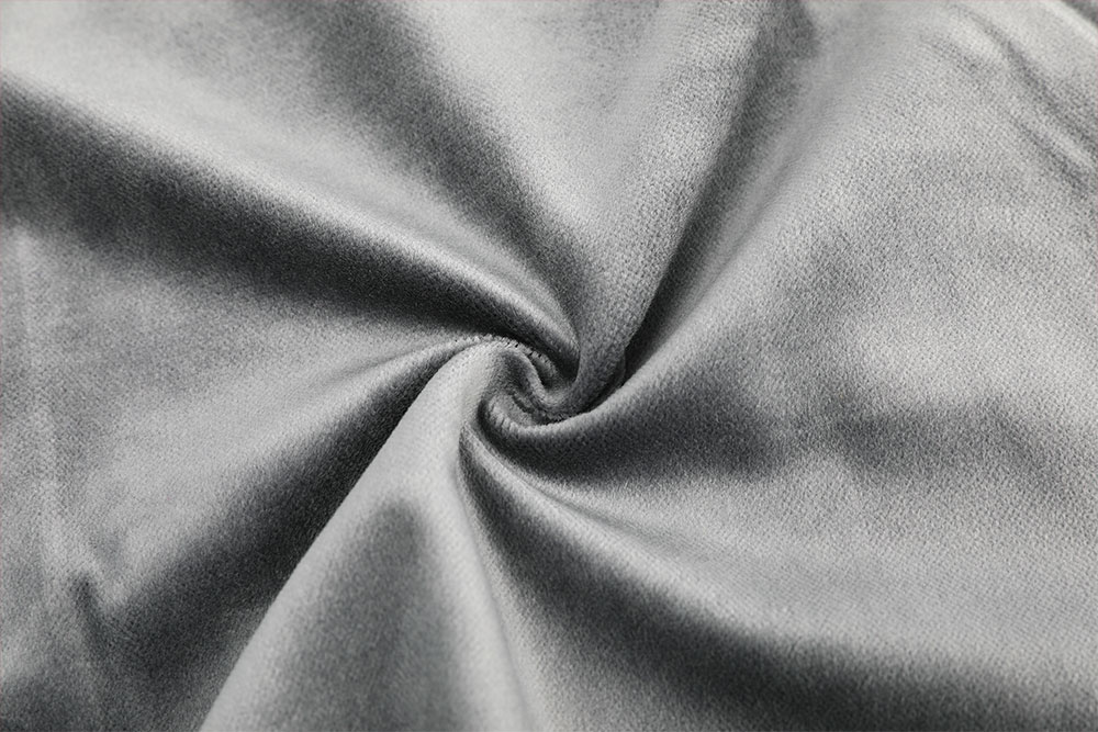 Inherently fire retardant velour fabric for stage curtain