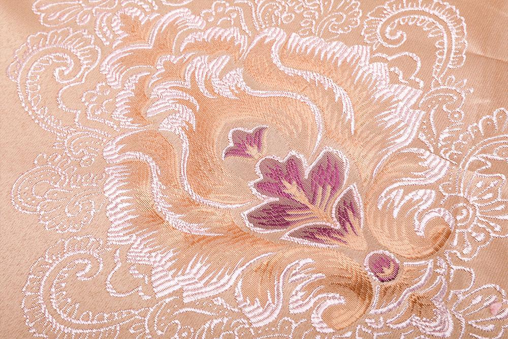 Inherently flame retardant China style jacquard curtain fabric