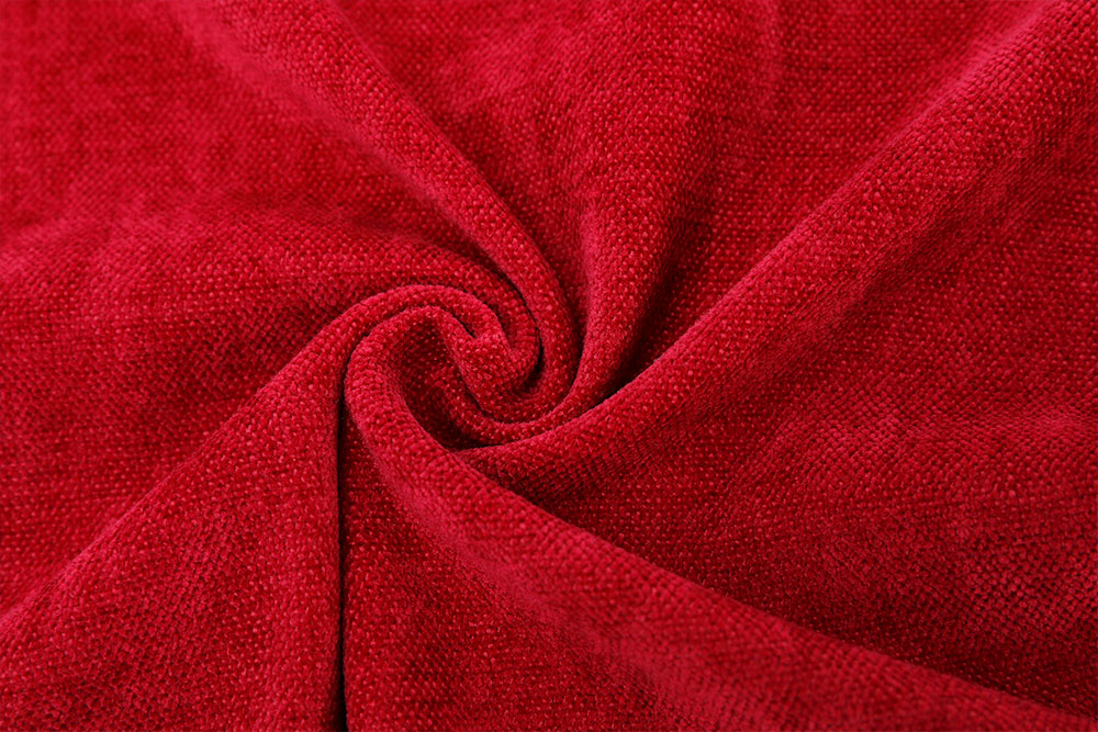 Inherently fire retardant chenille curtain fabric KLCC-FR-001