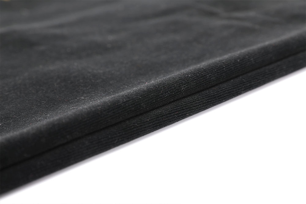 Inherently fire retardant cut pile velvet fabric for stage curtain