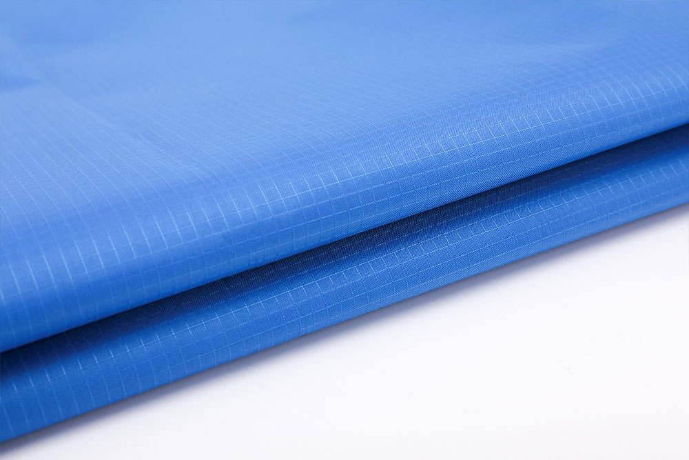 Anti-bacterial PU coated oxford fabric for tent