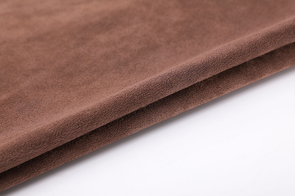 Inherently flame retardant blackout curtain fabric