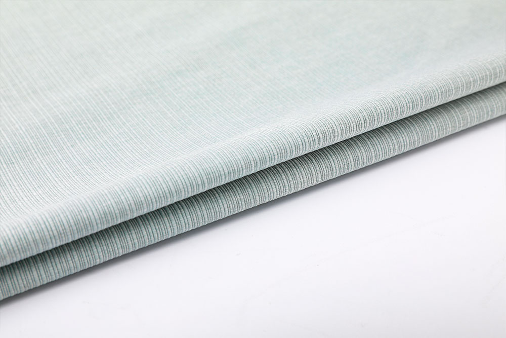IFR imitation linen curtain fabric for hotel