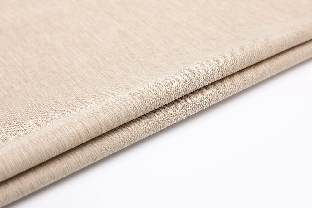 IFR imitation linen curtain fabric