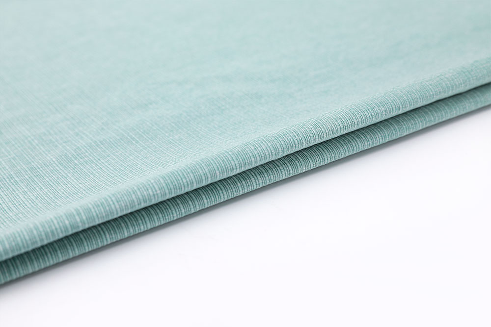 IFR linen-like curtain fabric for hotel