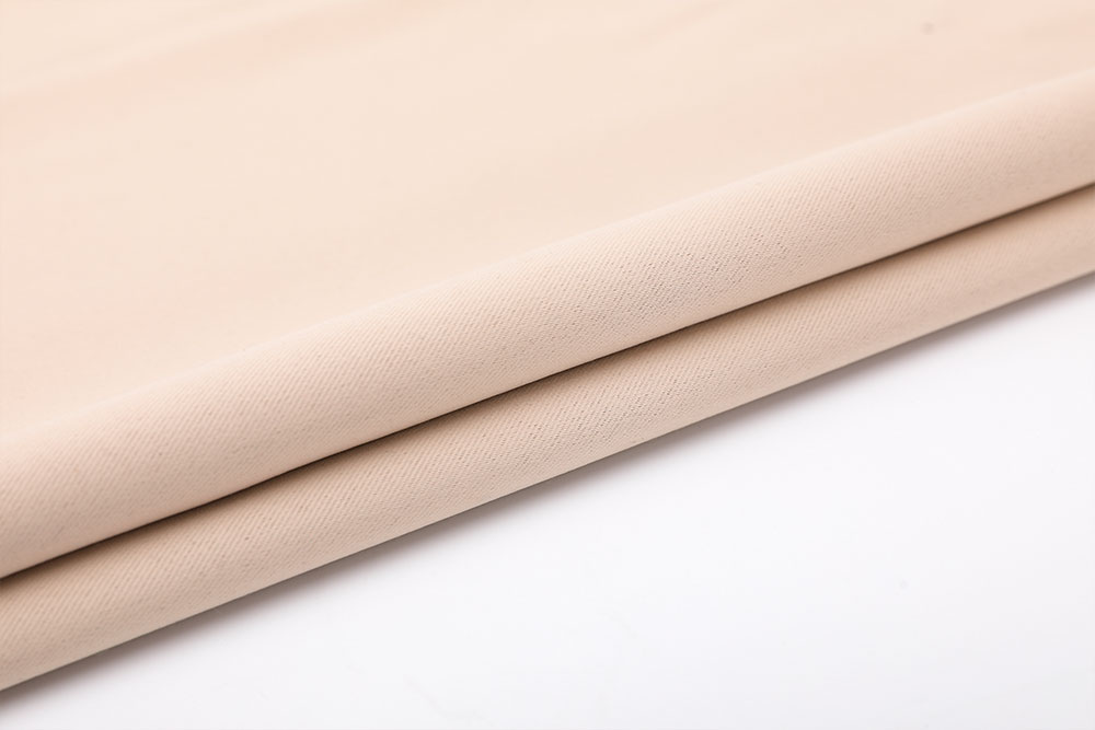 Inherently fire retardant blackout curtain fabric for hotel