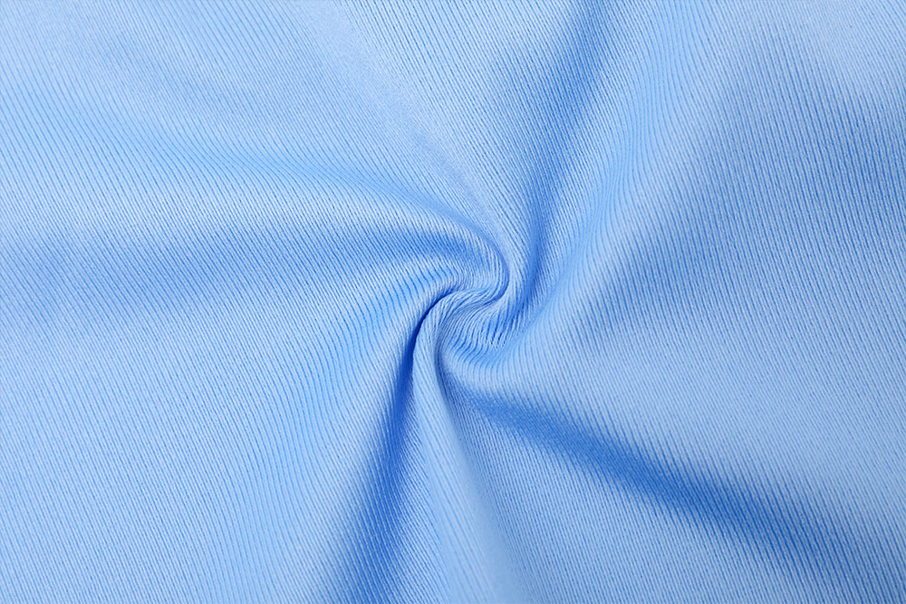 Inherently fire retardant and antibacterial hospital curtain fabric