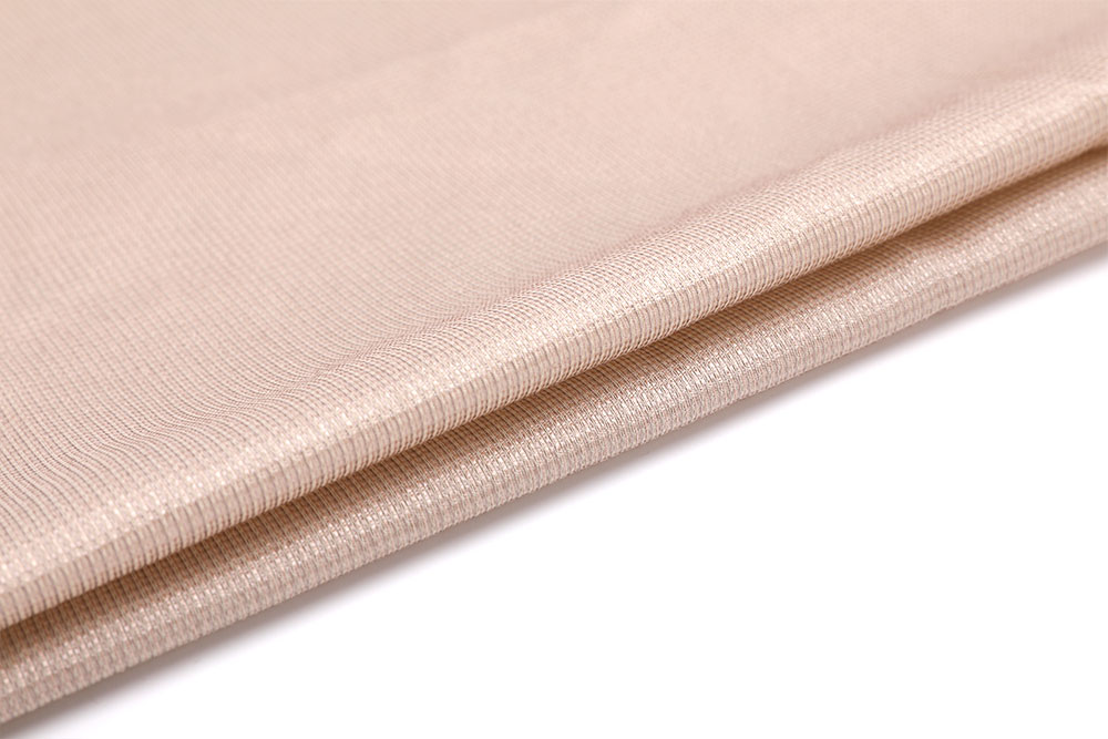 Inherently flame retardant sheer curtain fabric