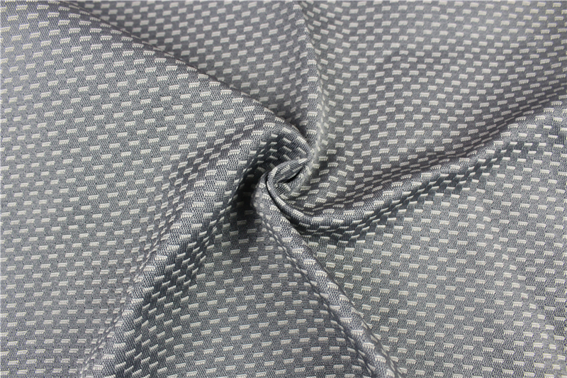Inherent fireproof jacquard seat-cover fabric
