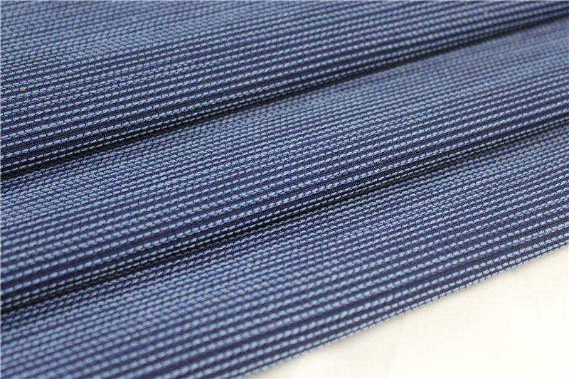 IFR yarn-dyed seat cover fabric for train